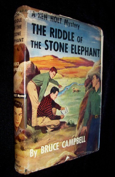 Image for A Ken Holt Mystery - The Riddle of the Stone Elephant