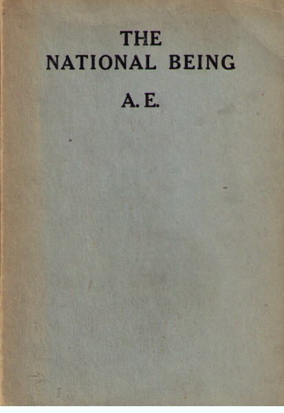 Image for The National Being : Some Thoughts on and Irish Polity