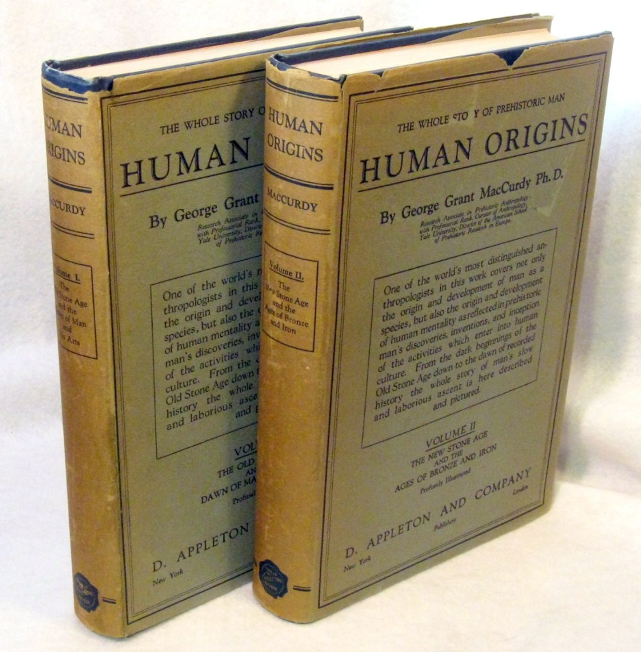 Image for Human Origins. A Manual of Prehistory - 2 Volumes