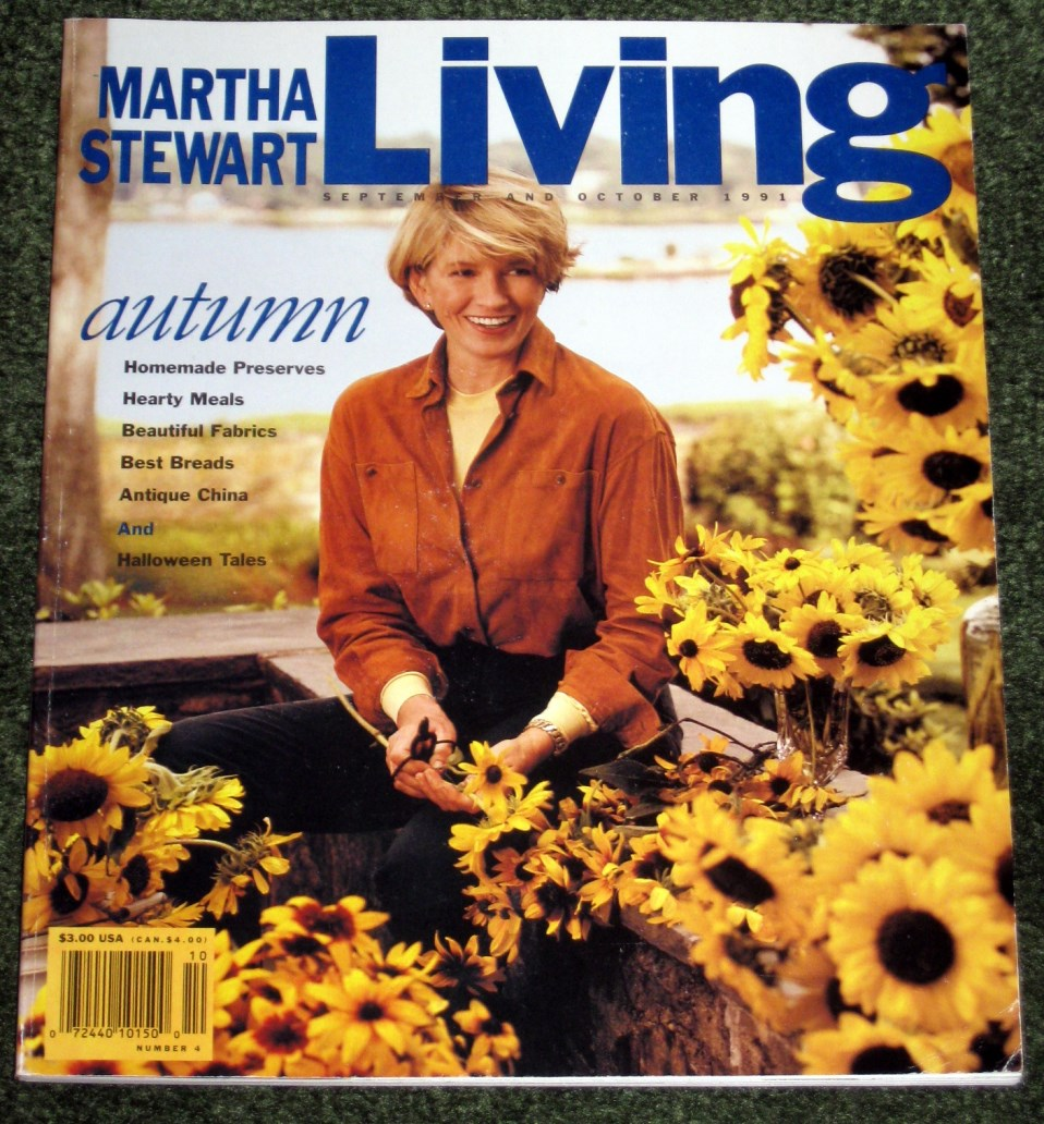 Image for Martha Stewart Living #4  Autumn September and October 1991