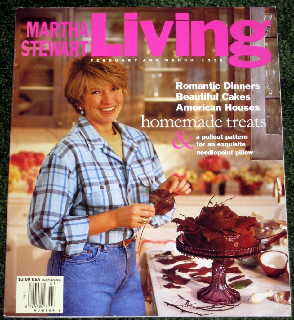 Image for Martha Stewart Living #6  Feburary and March 1992