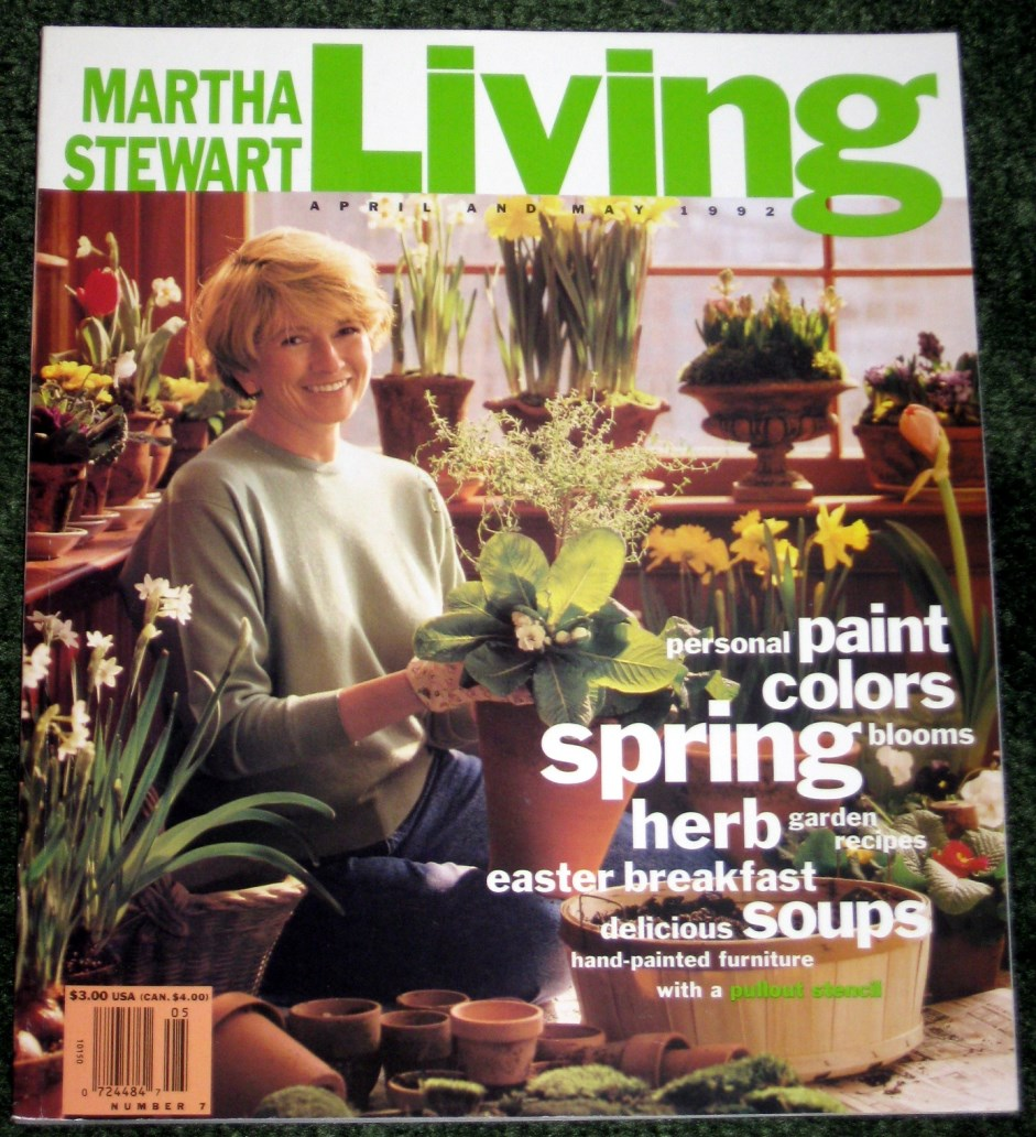 Image for Martha Stewart Living   April and May 1992