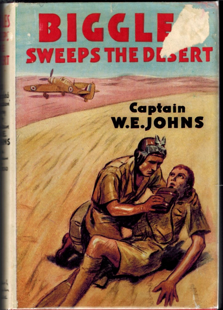 Image for Biggles Sweeps the Desert