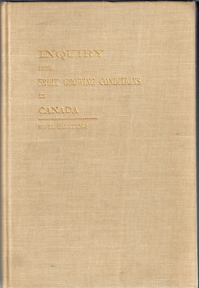 Image for Inquiry Into Fruit Growing Conditions in the Dominion of Canada