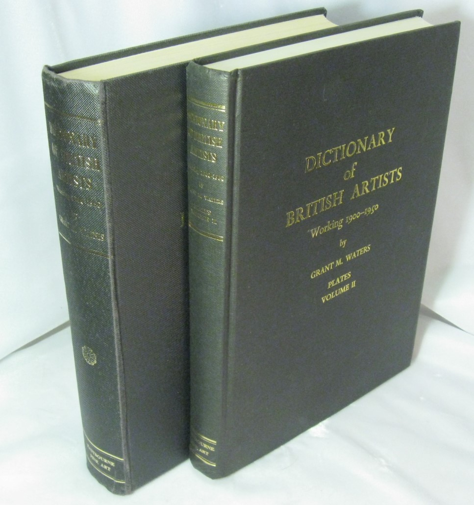 Image for Dictionary of British Artists Working 1900-1950 - 2 Volumes