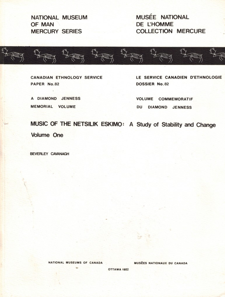 Image for Music of the Netsilik Eskimo : A Study of Stability and Change - Volumes 1 and 2