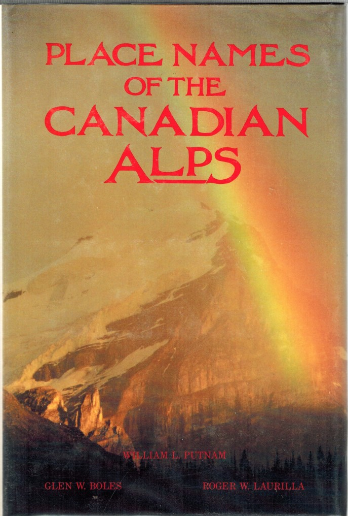 Image for Place Names of the Canadian Alps