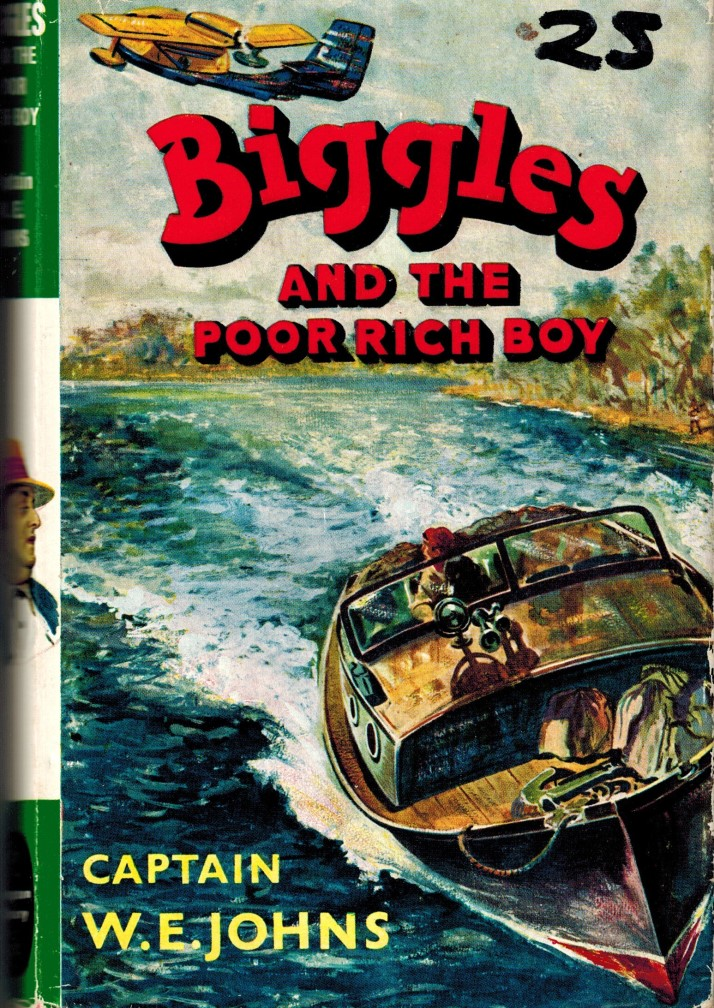 Image for Biggles and the Poor Rich Boy